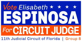 Elisabeth Espinosa for Circuit Judge – 11th Judicial Circuit of Florida, Group 8 Logo